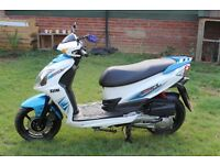 SYM JET 4 125cc 2012 QUICK SALE AS LEAVING TO IRELAND ON THURSDAY!