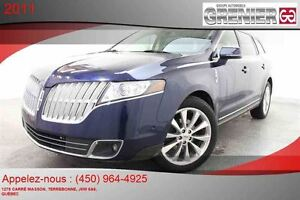 2011 Lincoln MKT EcoBoost AWD *GPS + 7 PASSAGERS + CUIR*