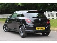 VAUXHALL CORSA 1.2 LIMITED EDITION 3d 83 BHP 5 STAR AWARD WINNING DEALER (black) 2011