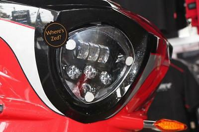 Victory Magnum / X1 (2015-2017) Motorcycle Headlight Protector / Light Guard Kit