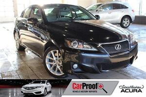 2011 Lexus IS 350 3.5L V6, AWD, Navigation, Leather, Sunroof