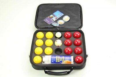 Aramith Super Pro Cup Pool Balls in Nylon Case and Ball Cleaner