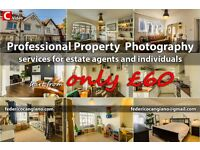 Professional property photographer, photograph your property for £60!