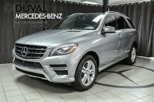 2015 Mercedes-Benz M-Class ML350 BlueTEC 4MATIC/ VRAI CUIR+GPS+T
