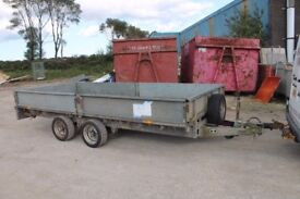IFOR WILLIAMS 14ft TRAILER FOR HIRE