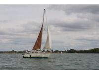 Hurley 20 Bilgekeel Yacht, lying Chichester, £950