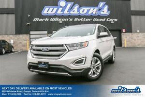 2016 Ford Edge SEL AWD! NAVIGATION! PANORAMIC SUNROOF! BLIND SPO