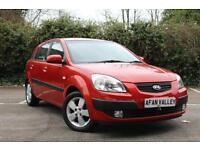 KIA RIO 1.4 3 5dr Automatic **LOCALLY OWNED++NEW MOT** (red) 2009