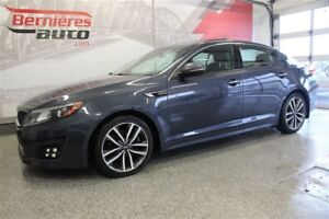 2014 Kia Optima SX Turbo Cuir+GPS+Toit Pano