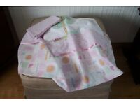 VERY NICE BABY COT BED DUVET SET (NEW)