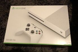Xbox One S - 4 games