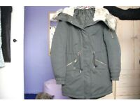 Ladies H&M Parka size 8