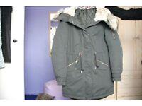 Ladies H&M Parka size 8