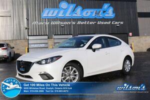 2015 Mazda MAZDA3 GS REAR CAMERA! PUSH BUTTON START! BLUETOOTH!
