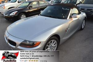 2004 BMW Z4 2.5i Roadster Convertable Leather Alloys