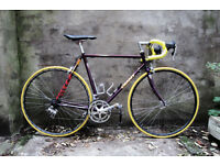 GIANT KRONOS, Campagnolo components, vintage racer racing road bike, 22 inch, 14 speed