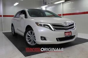 2015 Toyota Venza Limited AWD Heated Lthr Nav Sunroof Btooth BU