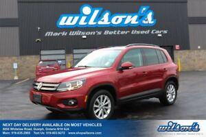 2013 Volkswagen Tiguan COMFORTLINE LEATHER! PANO SUNROOF! HEATED