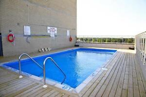 St. Thomas 1 Bedroom Apartment for Rent: Rooftop pool, gym, A/C London Ontario image 7