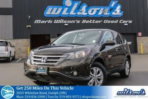 2014 Honda CR-V EX-L AWD SUV! LEATHER! SUNROOF! REAR CAMERA! HEA