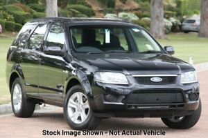 2010 Ford Territory SY MkII TX AWD Silver 6 Speed Sports Automatic Wagon