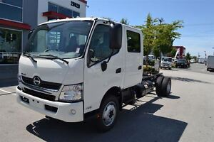 2017 Hino 195 Crew Cab. Includes 3 year maintenance packa...