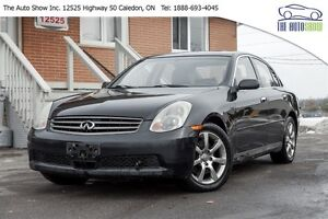 2006 Infiniti G35X AWD! LEATHER SUNROOF! ACCIDENT FREE!