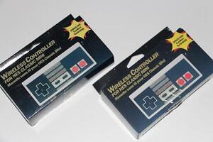 2X NINTENDO NES MINI CLASSIC-MANETTE SANS FIL/WIRELESS CONTROLLER+ADAPTER+USB (NEUF/NEW) [VOIR/SEE DESCRIPTION] (C003)