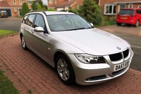 BMW 320d SE Estate Late 2007 in very good condition 98500 miles