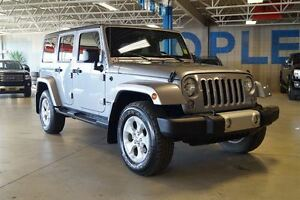 2014 Jeep Wrangler Unlimited Sahara, 4x4, Bluetooth, USB,