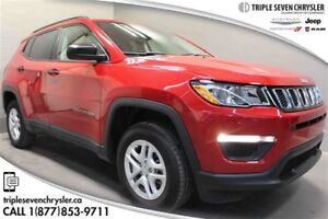 2017 Jeep Compass 4x4 Sport AS NEW!!