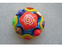Vtech Baby Spin & Teach Spinning Top Toy (Lights & Sounds)