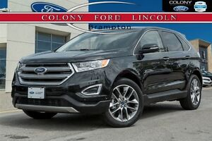 2015 Ford Edge FORD COMPANY DEMO, PANROOF, NAV, 20'S!