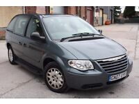 2007 CHRYSTLER VOYAGER 2.5 CRD SE, DIESEL, MANUAL, 7 SEATER, LONG MOT, LOW MILEAGE, P/X TO CLEAR !!