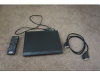 Sony DVD Player with Remote & Scart Lead