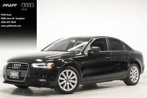 2014 Audi A4 2.0 8sp Tiptronic Komfort