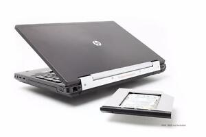 HP Elitebook 8570w - Core i7 3740QM 2.70 GHz - 16 GB RAM - 256 GB SSD - Windows 10 - MS Basic 8158 MB - Work Station