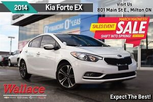 2014 Kia Forte 2.0L EX/1-OWNER/LOCAL TRADE/MOONROOF/HEATED SEATS