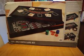 3 in One Big Casino Game set