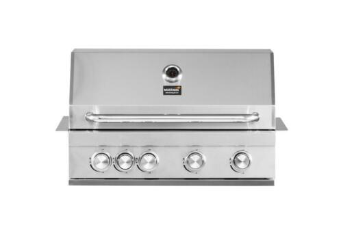 Inbouw Gas Bbq.Mustang Gas Grill Pearl 4 Of 6 Pits Inbouw Bbq Barbecue