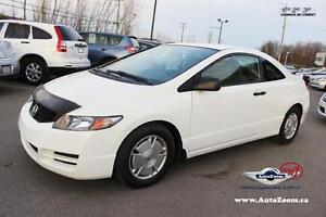 2011 Honda Civic Cpe DX-G * 26,26$/sem *