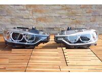 Car part : A pair right hand drive LED UK Adaptive headlights BMW 3 F30 F31 F35 2014-2017 RHD FSW-5
