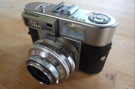 VOIGTLÄNDER VITOMATIC II, 35 MM FILM CAMERA, SPARES OR REPAIR