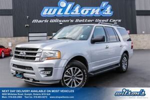 2017 Ford Expedition XLT 4WD! 8-PASS! LEATHER! HEATED FRONT+REAR