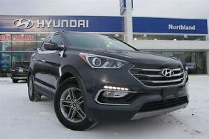 2017 Hyundai Santa Fe Sport 2.4/AWD/Back Up Cam/Heated Seats/Sun