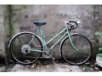 HALFORDS CASCADE, vintage ladies women's racer racing road bike, 21 inch, 5 speed