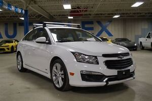 2015 Chevrolet Cruze LT, Leather, RS Package, Bluetooth, USB