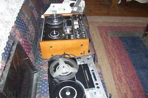 YOUR CHOICE OF TWO  REEL TO REEL TAPE PLAYERS RECORDERS