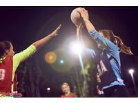 Play netball in Brixton - all levels catered for!