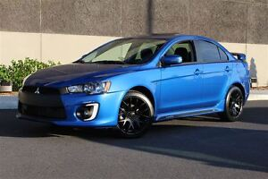 2016 Mitsubishi Lancer BLUE AND BLACK EDITION+TOIT+MAGS 18''